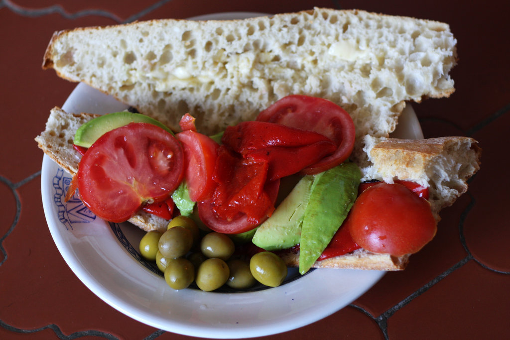 Fresh veggie sandwich. Photo: Sanjin Đumišić.