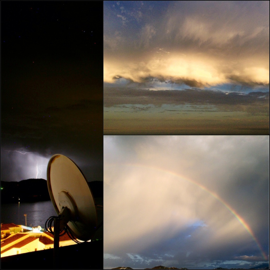 Lightning & Rainbow. Photo: Sanjin Đumišić.