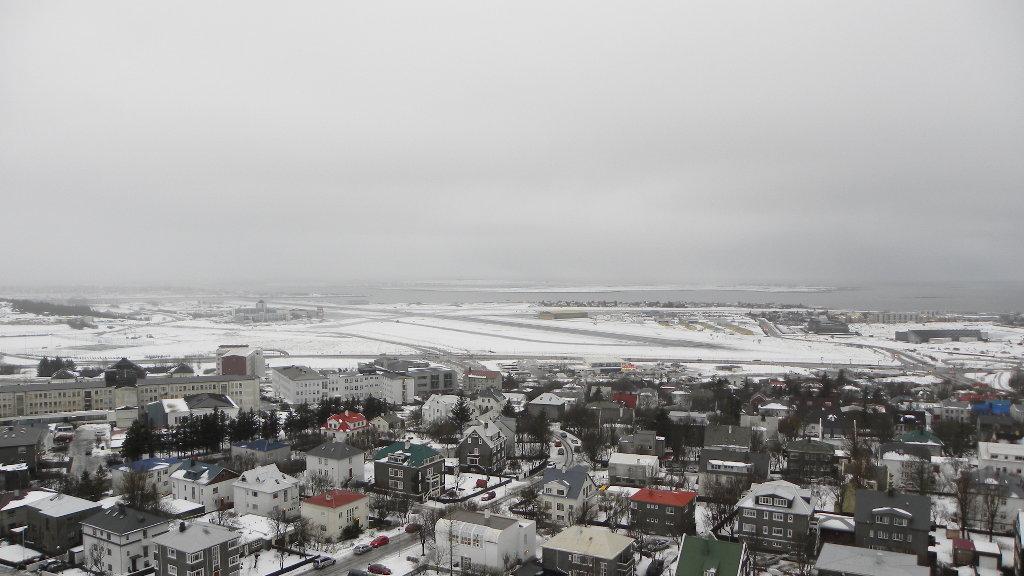 Reykjavik in winter. Photo: Sanjin Đumišić.