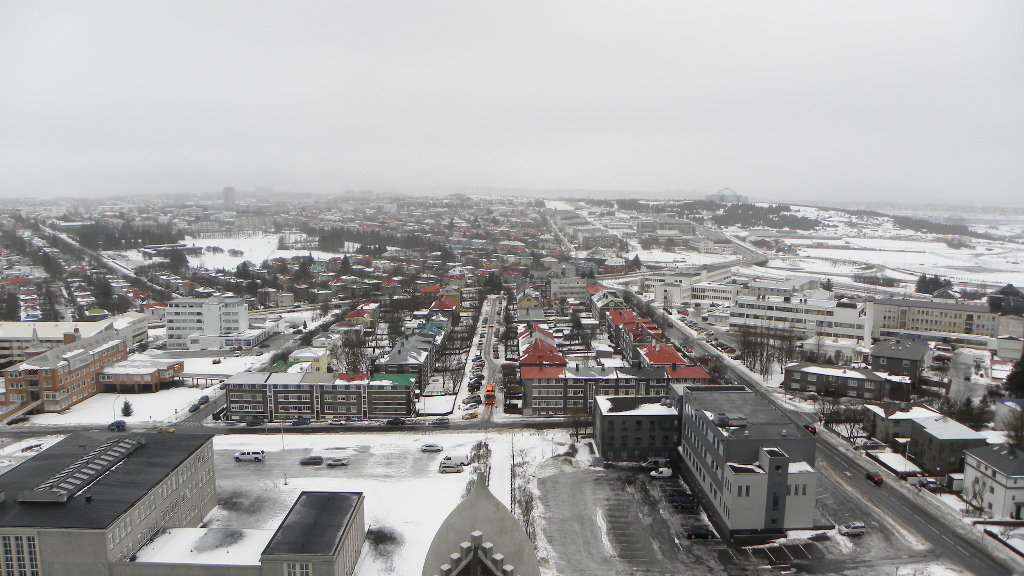 Reykjavik in winter. Photo: Sanjin Đumišić.