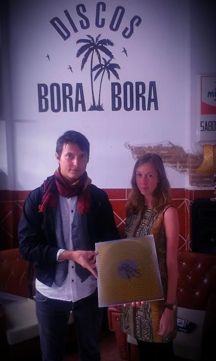 Sanjin and Lisa at Discos Bora-Bora.