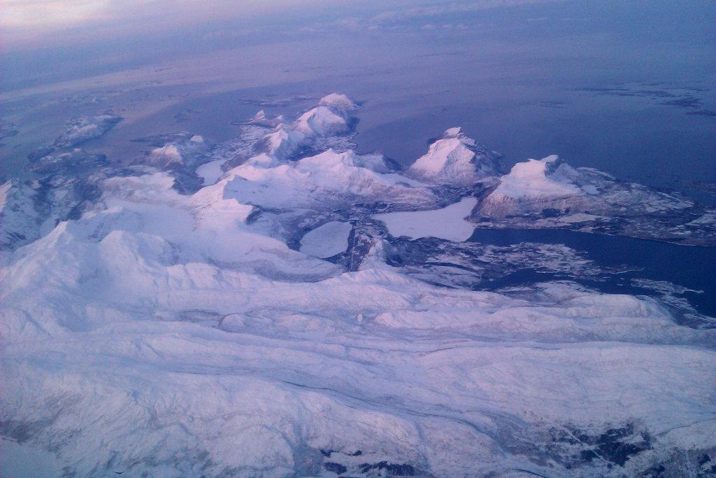Norwegian Air flight Bodø - Oslo. Photo: Sanjin Đumisić.