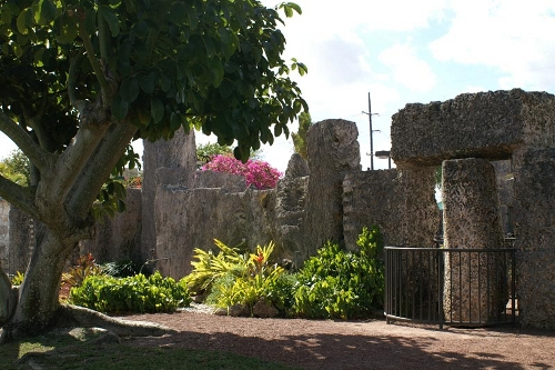 Coral Castle gate. Photo: coralcastle.com.