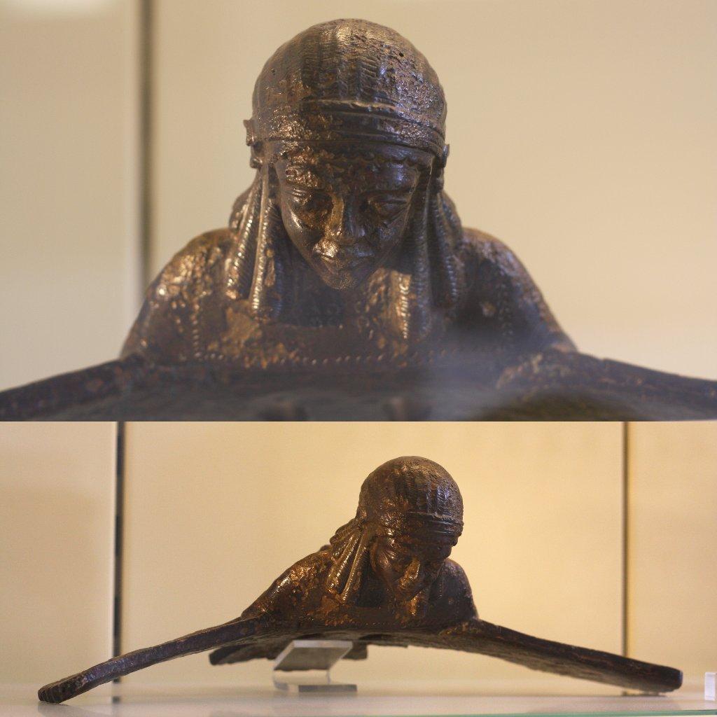 Sumerian mythical winged creature, Pergamon Museum Berlin. Photo: Sanjin Đumišić.