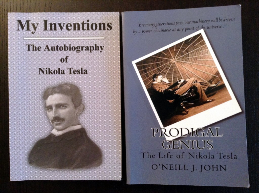 2 best books on Nikola Tesla.