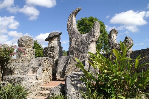 Coral Castle planets. Photo: coralcastle.com.