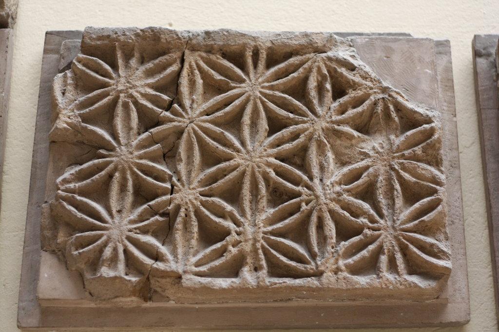 Sumerian flower of life, Pergamon Museum Berlin. Photo: Sanjin Đumišić.
