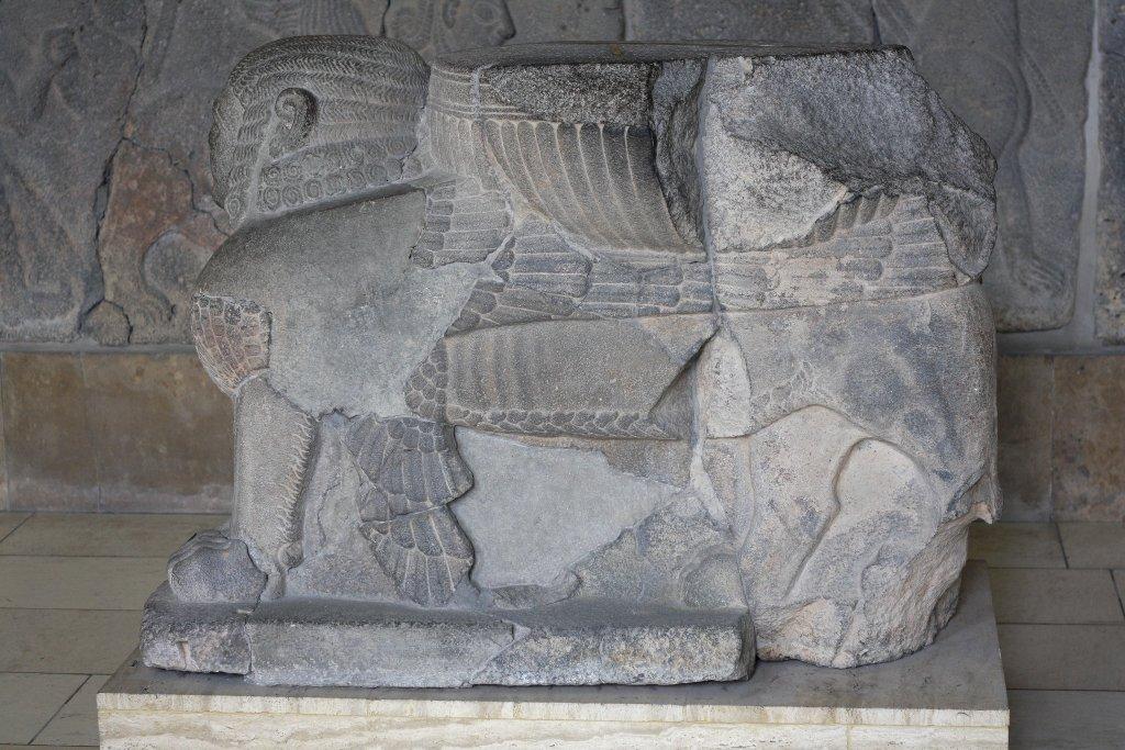 Sumerian sphinx, Pergamon Museum Berlin. Photo: Sanjin Đumišić.