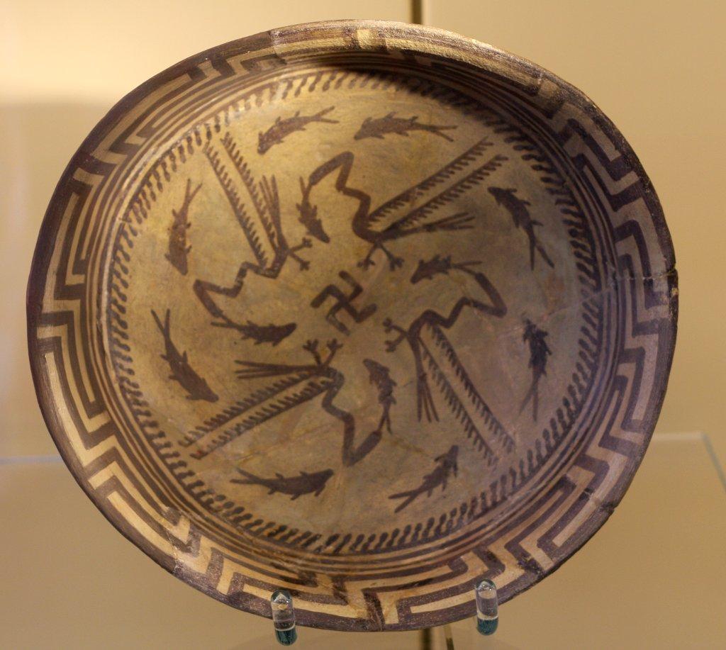 Sumerian swastika, Pergamon Museum Berlin. Photo: Sanjin Đumišić.
