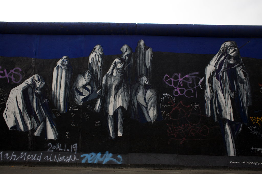Berlin wall art. Photo: Sanjin Đumišić.