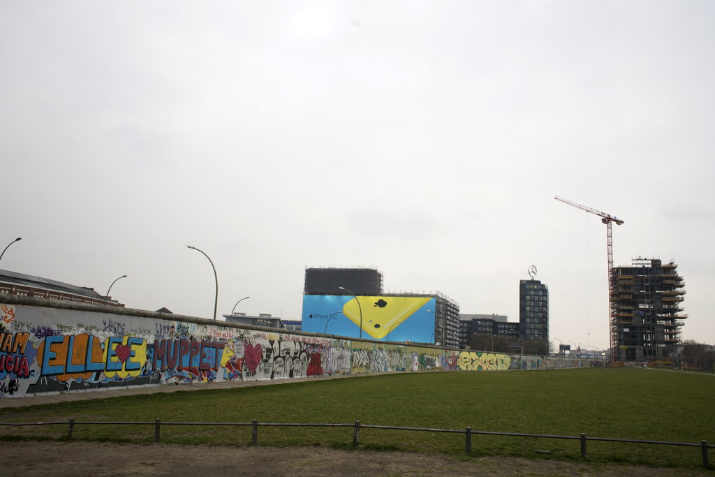 Berlin wall art. Photo: Sanjin Đumišić.