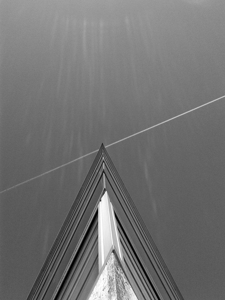 Flight path geometry. Photo: Sanjin Đumišić.