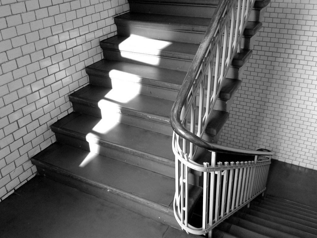 Old hospital steps. Photo: Sanjin Đumišić.