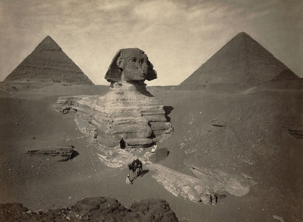 Sphinx. Public domain photo.