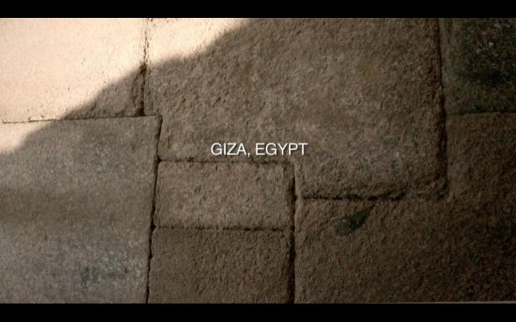 The Revelation Of The Pyramids - Giza.
