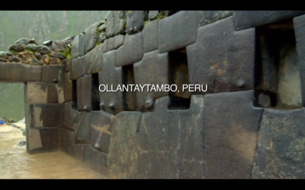 The Revelation Of The Pyramids - Ollantaytombo.