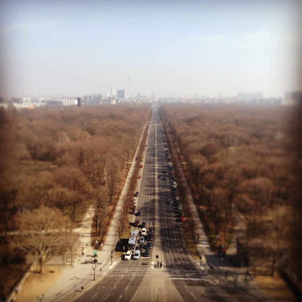 Tiergarten in Berlin from above. Photo: Sanjin Đumišić.