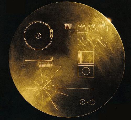 Voyager golden disk.