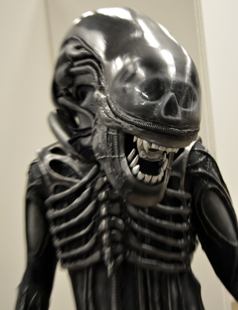 Alien costume. Photo: Sanjin Đumišić.