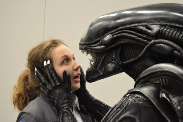 Sci-Fi Convention in Göteborg