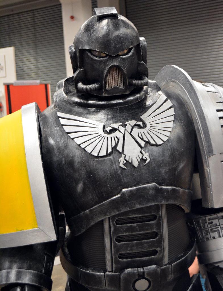 Robot warrior costume. Photo: Sanjin Đumišić.