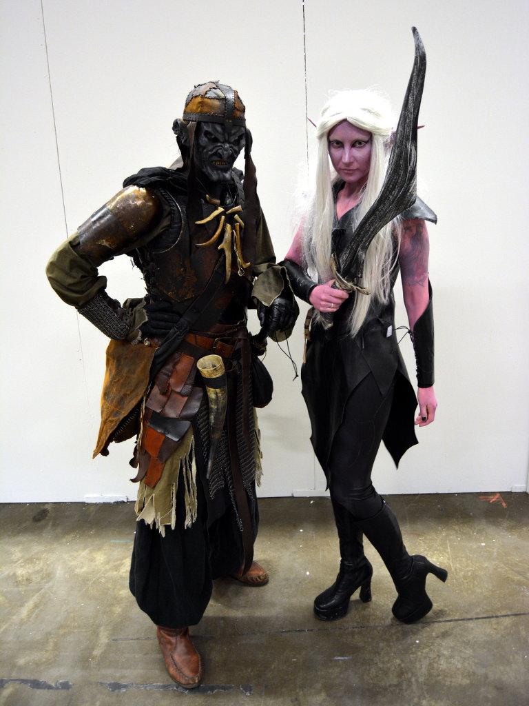 This couple had done a fantastic job on their costumes! Photo: Sanjin Đumišić.