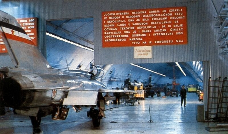 Željava Air Base (Objekat 505) – A Yugoslavian Story of Wasting of Money