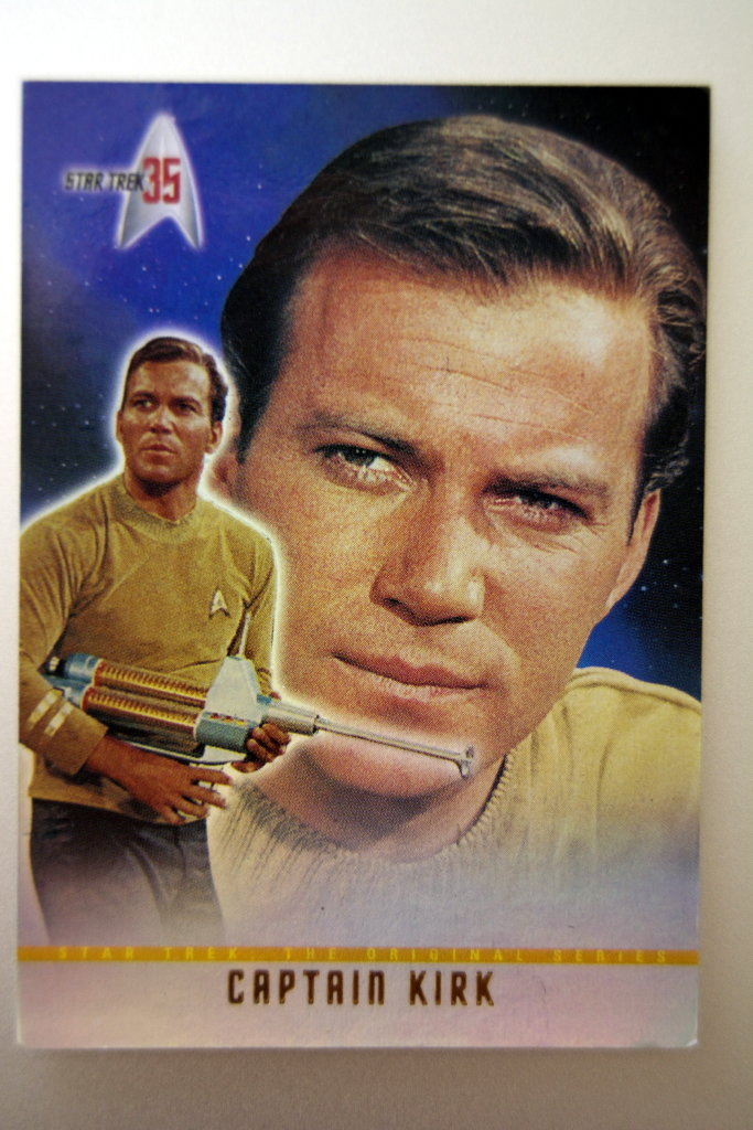 Captain James Kirk.
