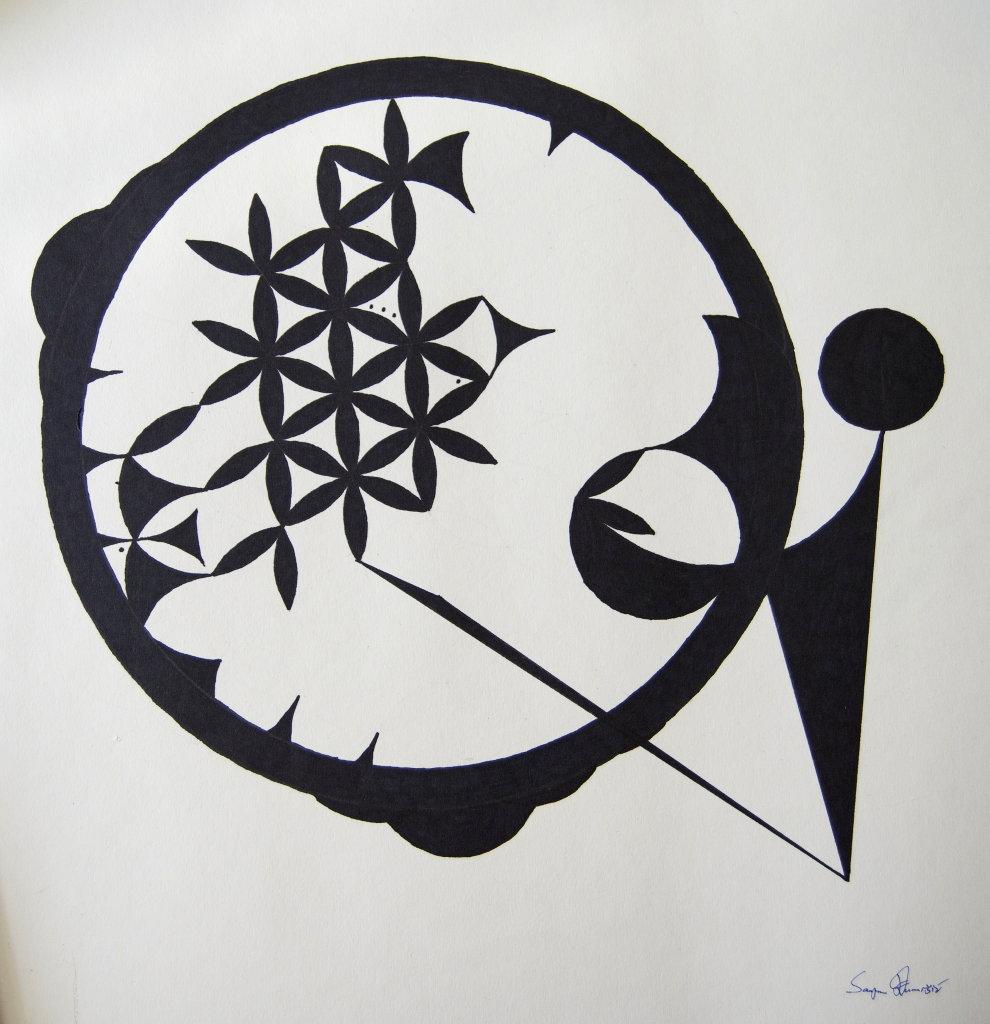 Cosmogram by Sanjin Đumišić.