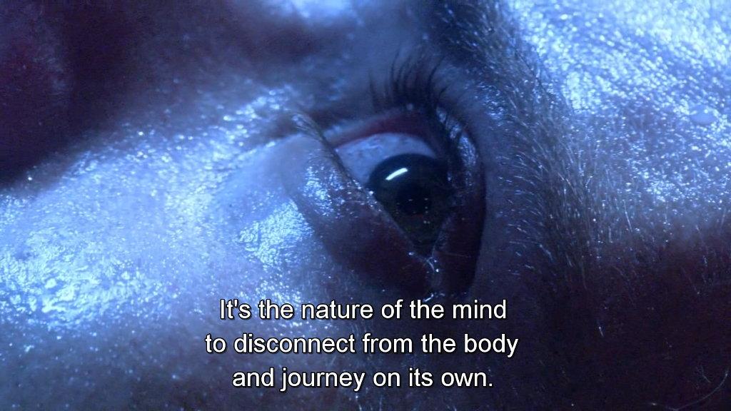 "Gaius Baltar on the ""nature of the mind"". Battlestar Galactica."