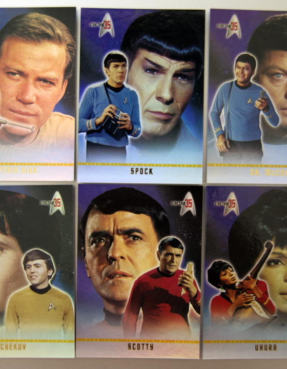 The Original Star Trek Crew