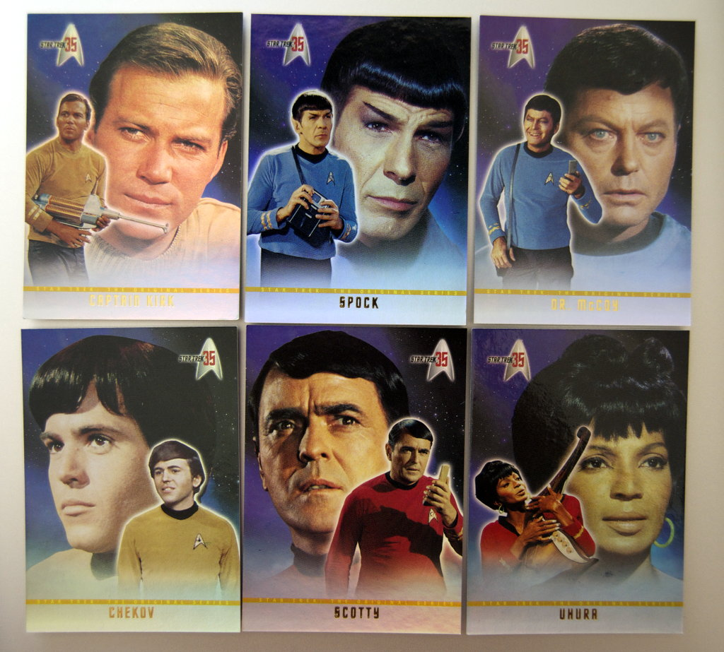 Star Trek cards.