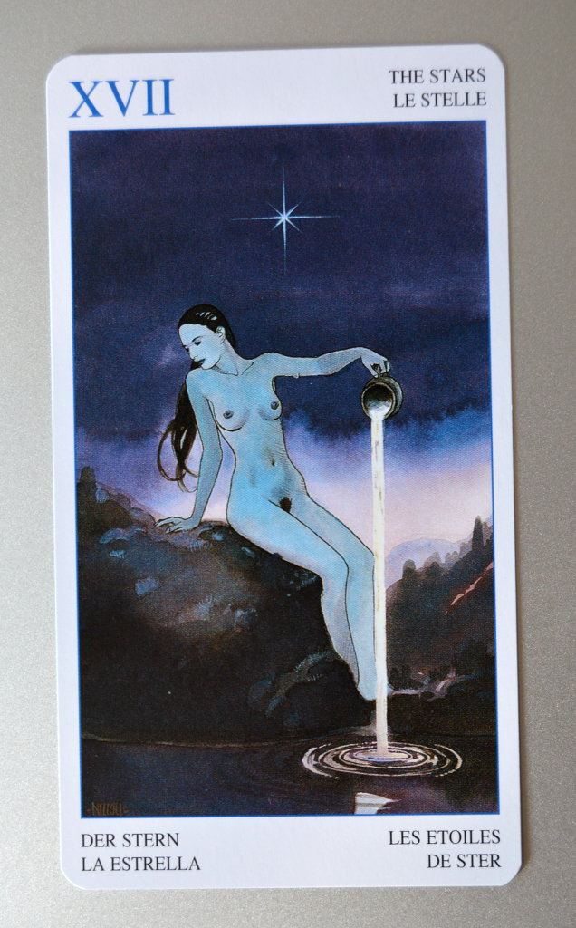 Tarot Card - The Stars.