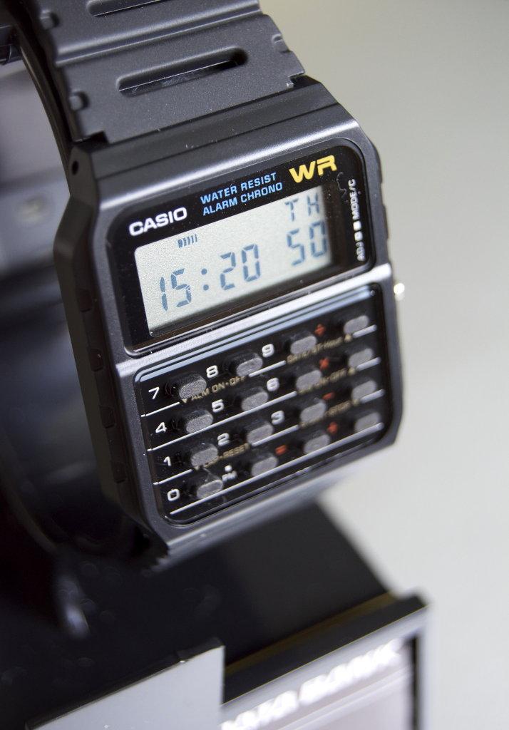 Casio CA53W-1 Databank. Photo: Sanjin Đumišić.