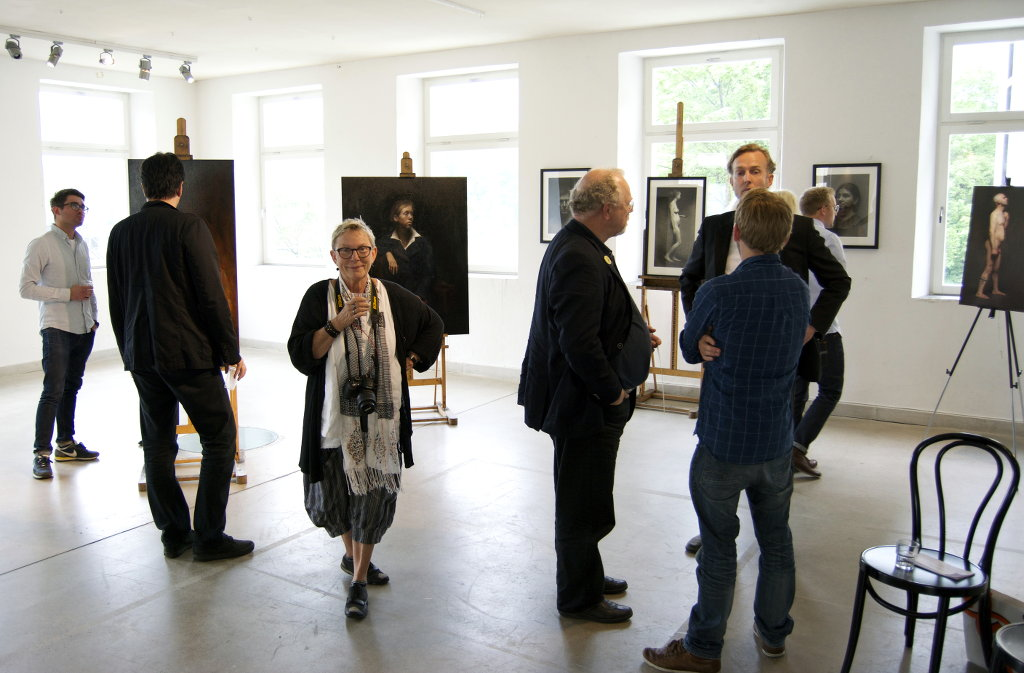 Graduation exhibition at The Florence Academy of Art. Photo: Sanjin Đumišić.