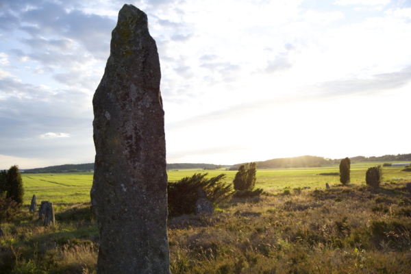 Swedish megaliths in Li, Fjärås Bräcka