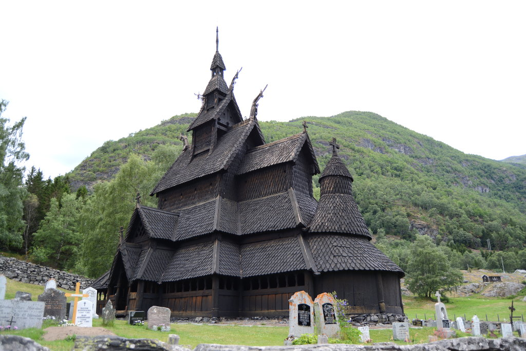 Borgund Stave Church. Photo: Sanjin Đumišić.