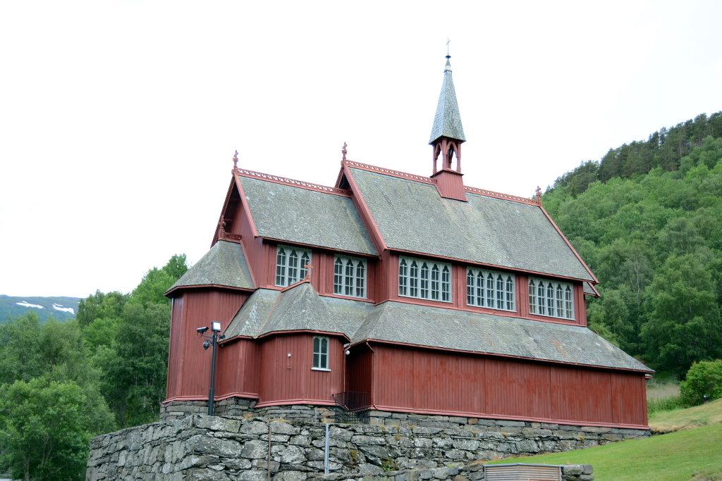 Borgund Church. Photo: Sanjin Đumišić.