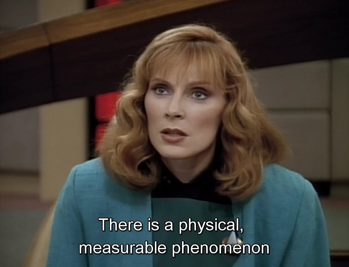 Doctor Beverly Crusher of the Star Trek TNG - Meme.