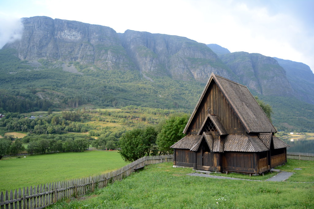 Øye stave church. Photo: Sanjin Đumišić.