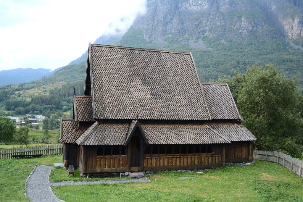 Øye stave church. Photo: Sanjin Đumišić.