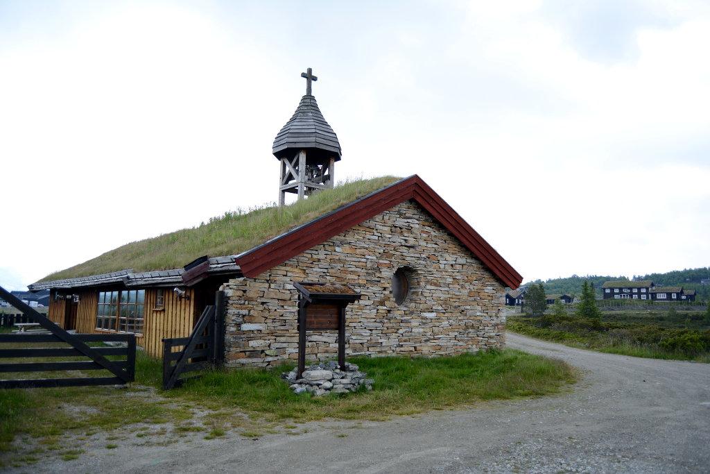 Small Church in Ringebu Norway. Photo: Sanjin Đumišić.