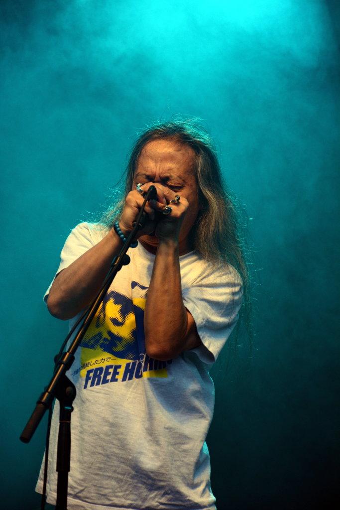 Damo Suzuki. Photo: Sanjin Đumišić.