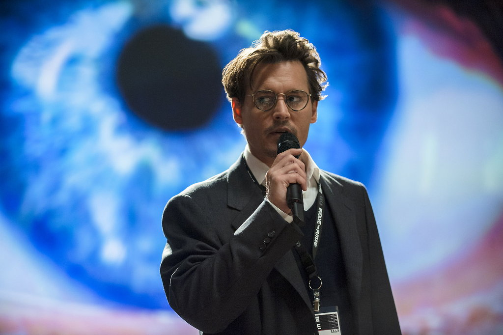Transcendence film review and transhumanism.