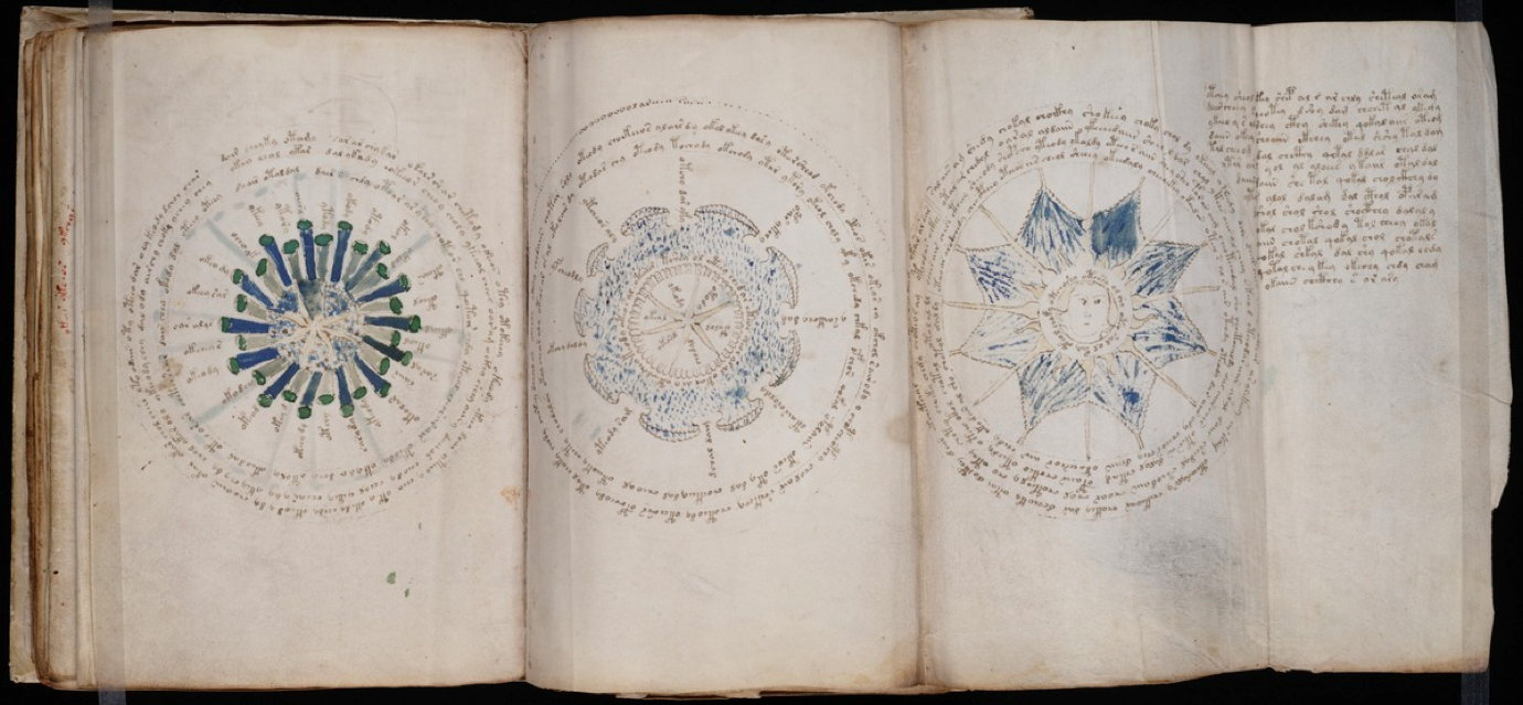 Voynich Manuscript page 69.