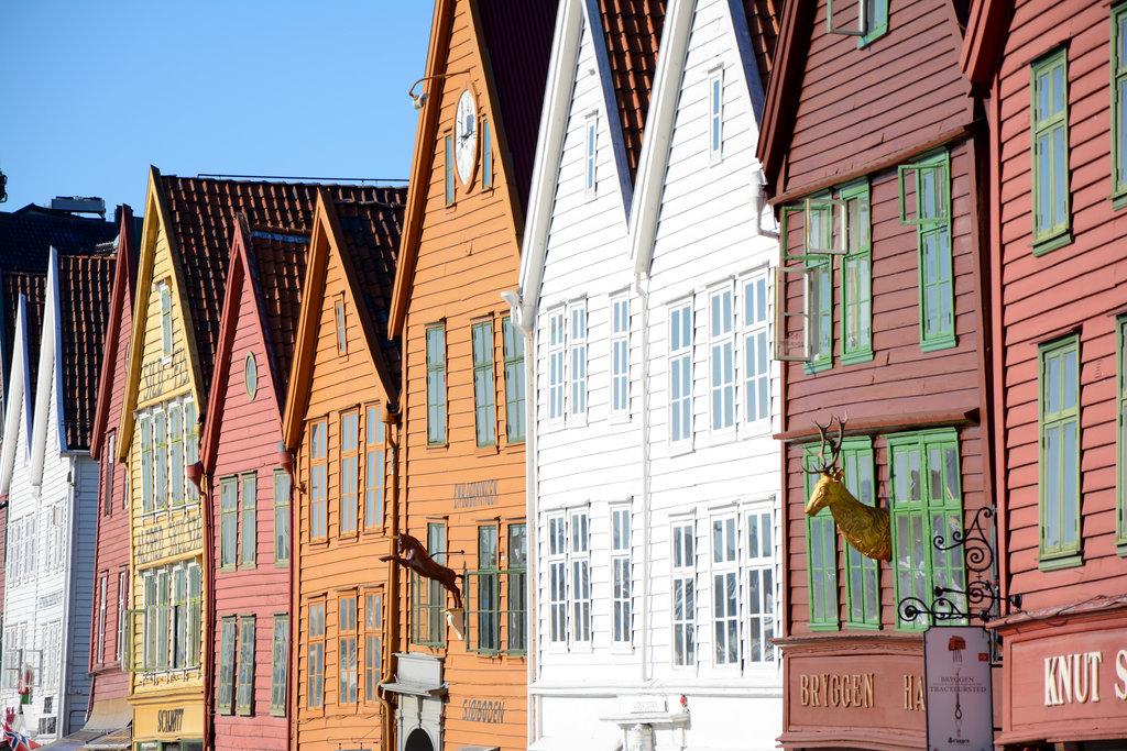 Colorful Bergen houses. Photo: Sanjin Đumišić.