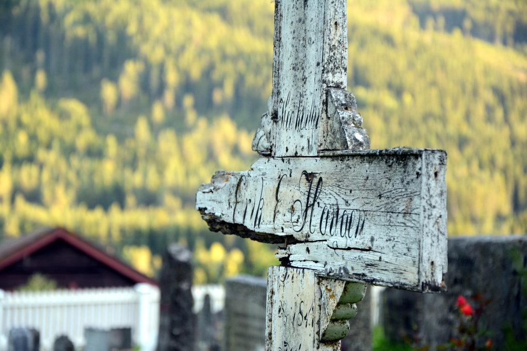 Erik's grave. Photo: Sanjin Đumišić.