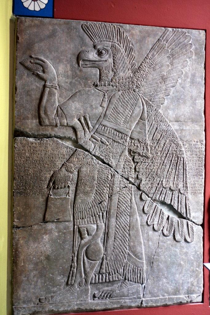 Sumerian reliefs. Photo: Sanjin Đumišić.
