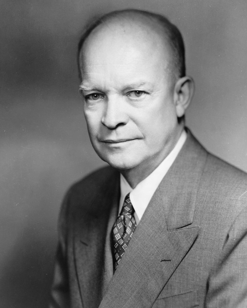 Dwight D. Eisenhower. Photo: Fabian Bachrach 1952.