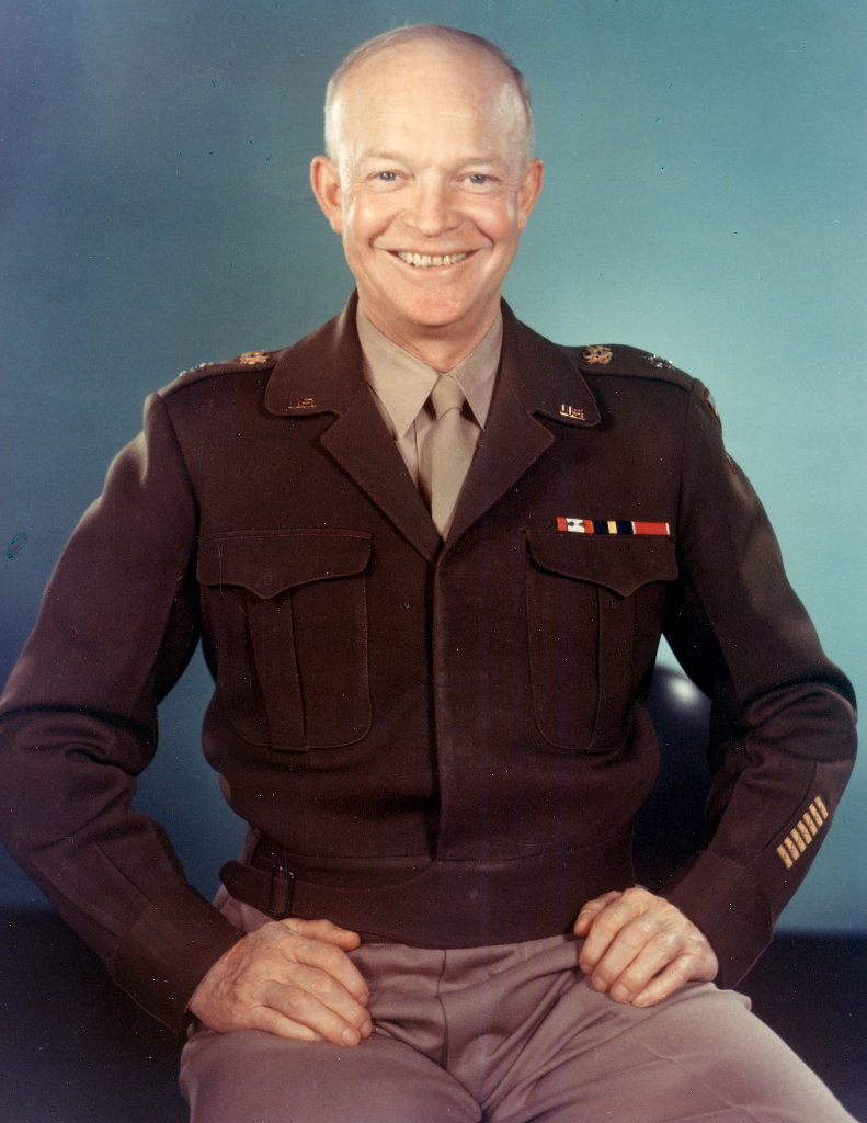 Dwight D. Eisenhower. Photo: Public Domain U.S. Army.